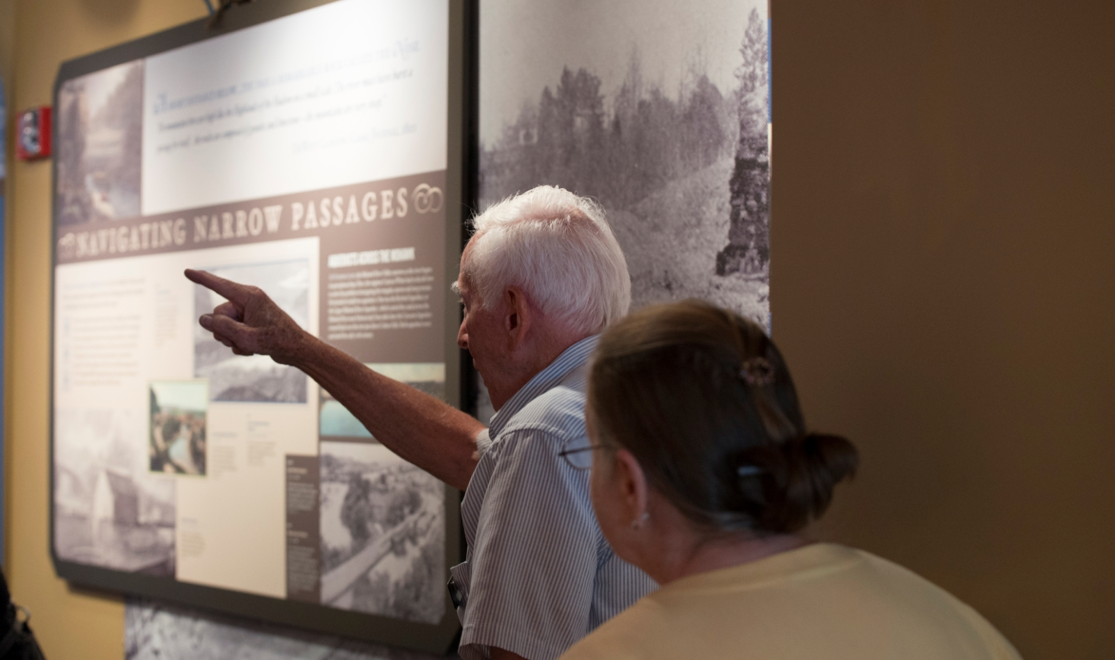 Phone or email us any time to schedule a guided tour of the Museum.