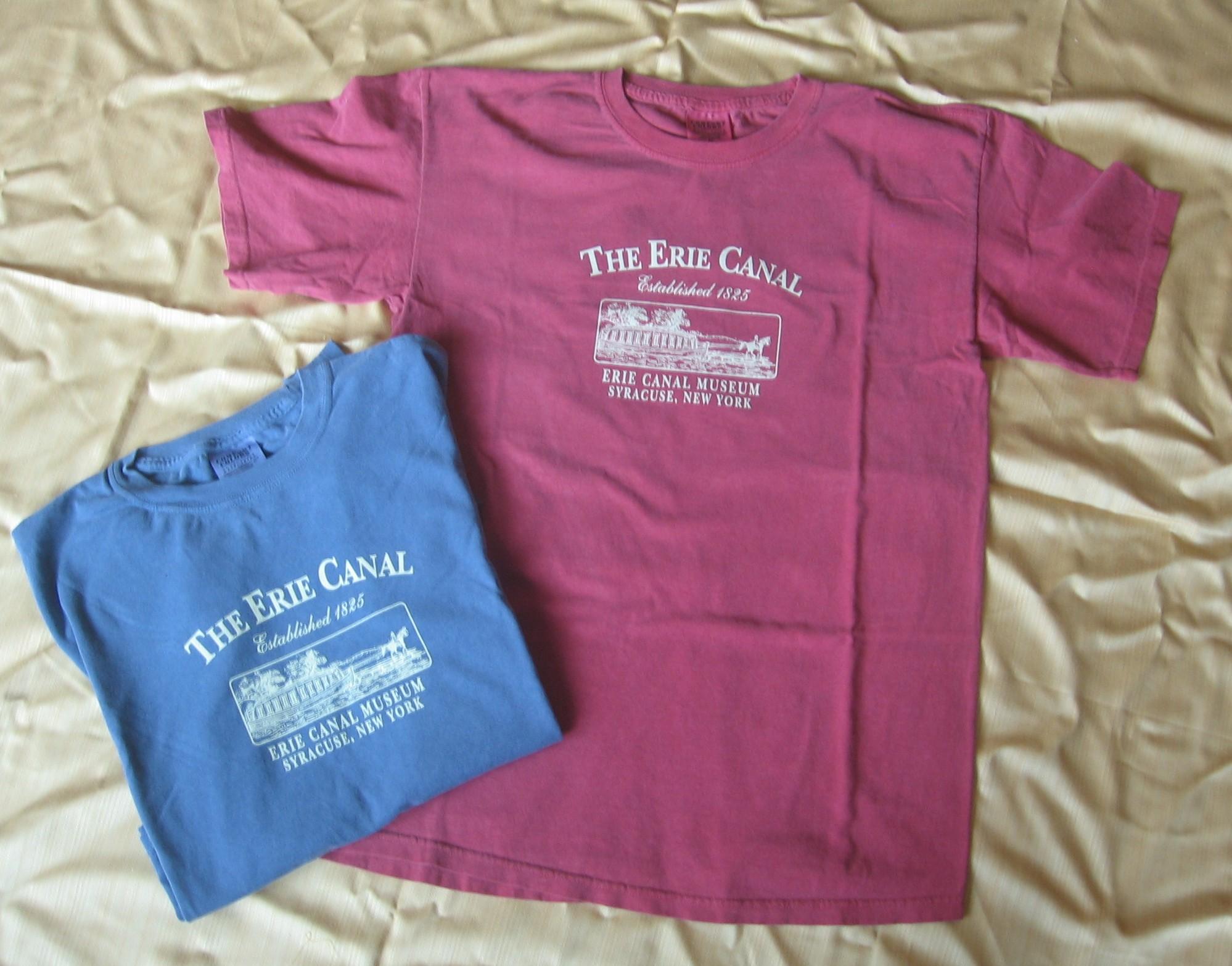 ECM Shirts Erie Canal Museum