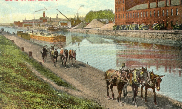 Quarantine Coffee Hour: How Buffalo Became the Erie Canal's Western Terminus