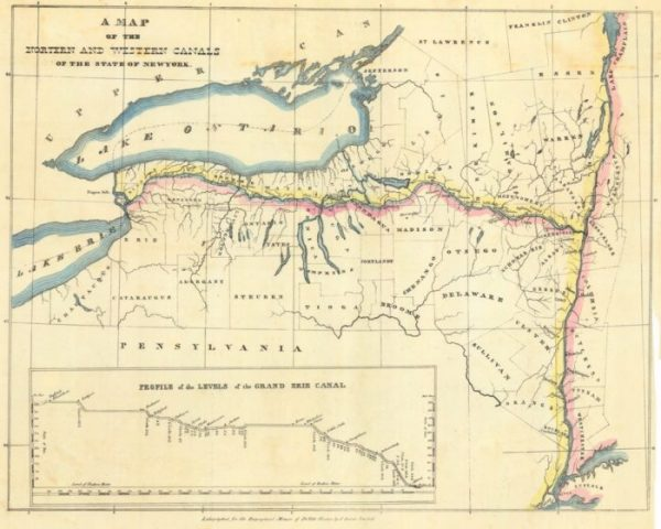 The Erie Canal's Unique Geological History