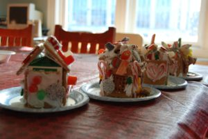 Gingerbread House Workshop for Children and Families