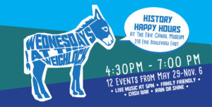 History Happy Hour at the Erie Canal Museum