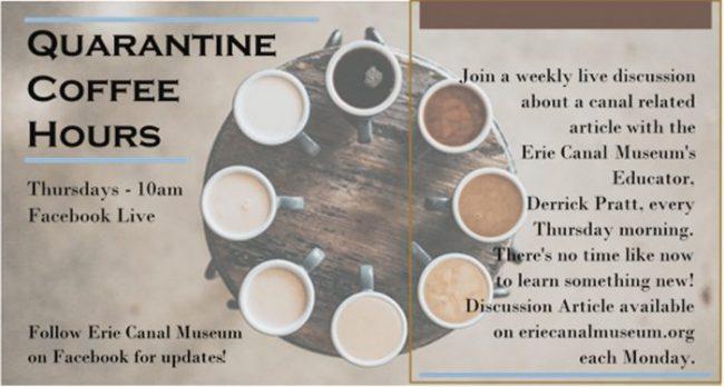 Quarantine Coffee Hour: Aboard the Auburn and Syracuse Railroad