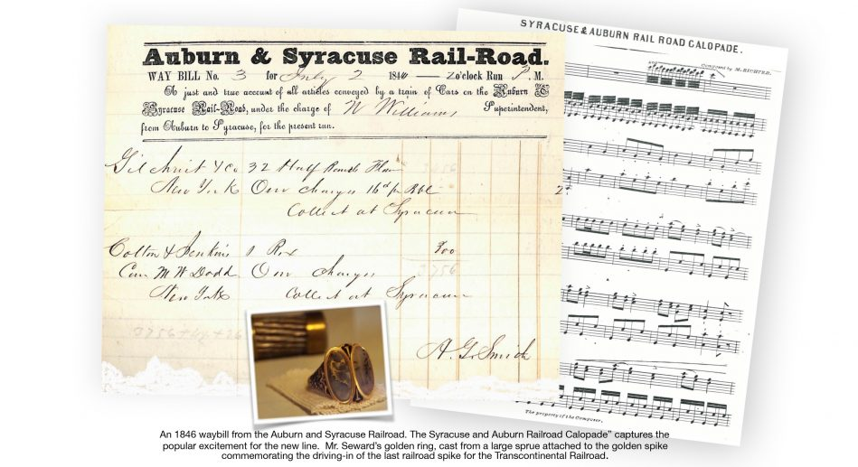 Aboard the Auburn and Syracuse Railroad