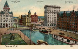 Early Months of Erie Canal Navigation in Syracuse