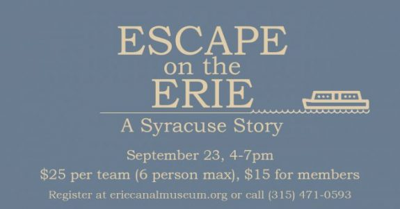 Escape on the Erie: A Syracuse Story